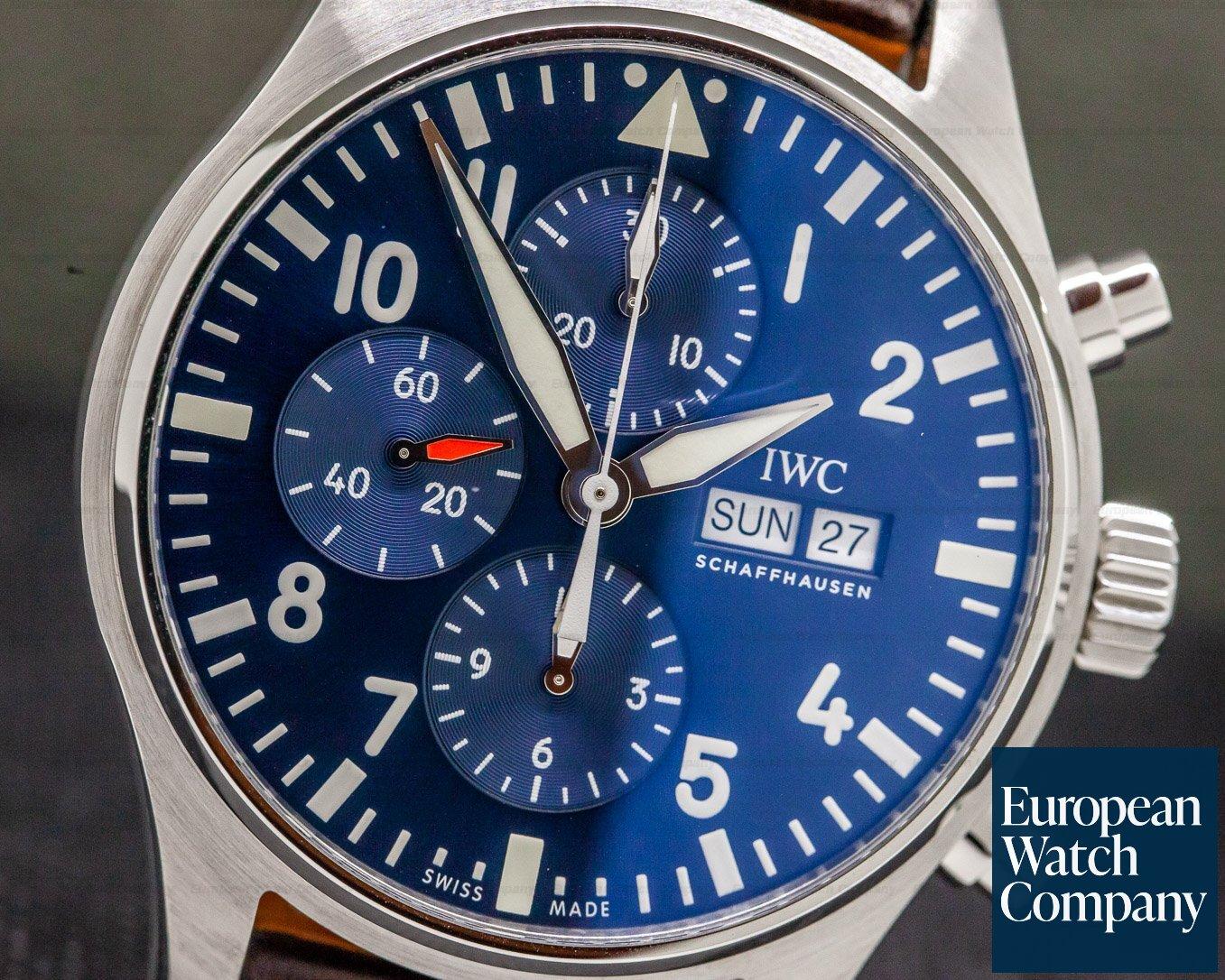 IWC IW377714 Pilot Chronograph SS Le Petite Prince