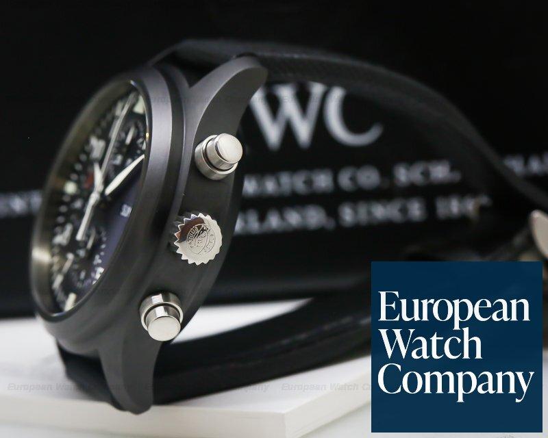 IWC IW378601 Pilot Split Second Ceramic LIMITED / Full Set