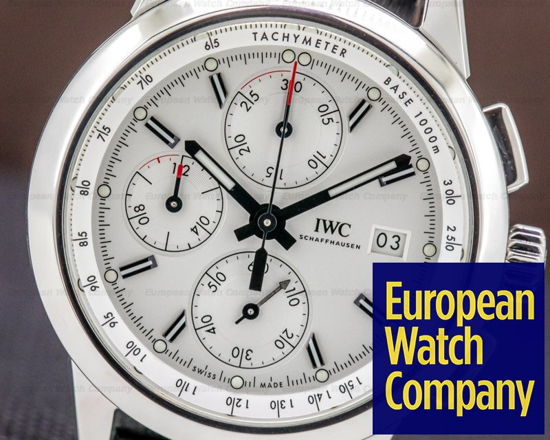 "IWC IW380701 Ingenieur Chronograph Edition ""W 125"" White Dial / SS"