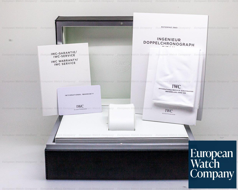 IWC IW386503 Ingenieur Double Chronograph Titanium