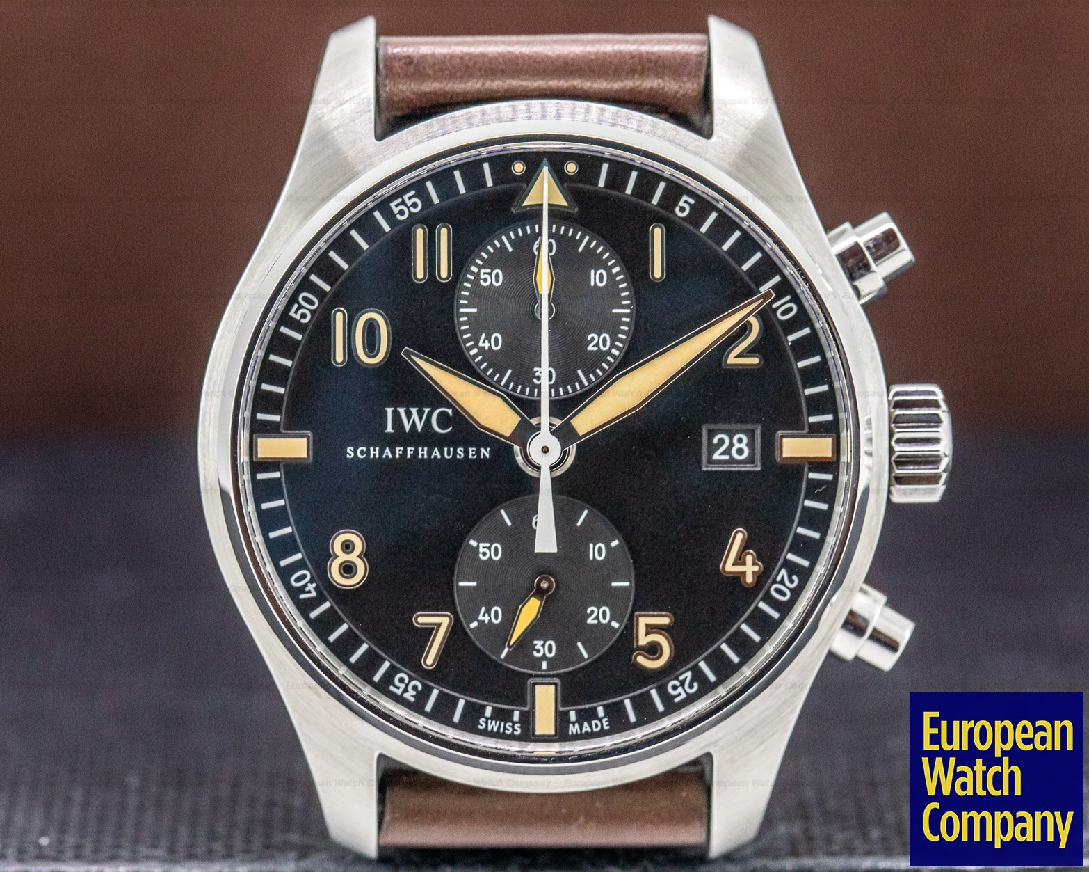 "IWC IW387808 Pilot Chronograph Collectors Watch ""CF3"""