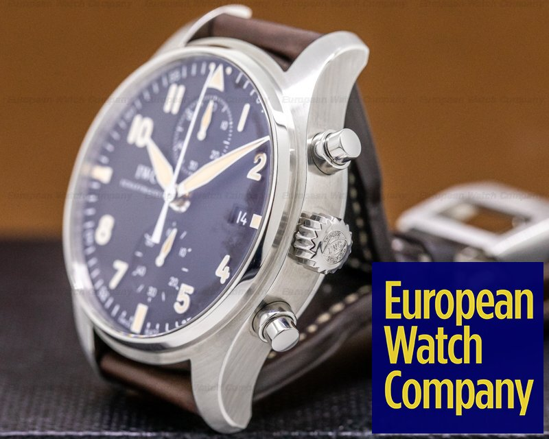 """IWC IW387808 Pilot Chronograph Collectors Watch """"CF3"""""""