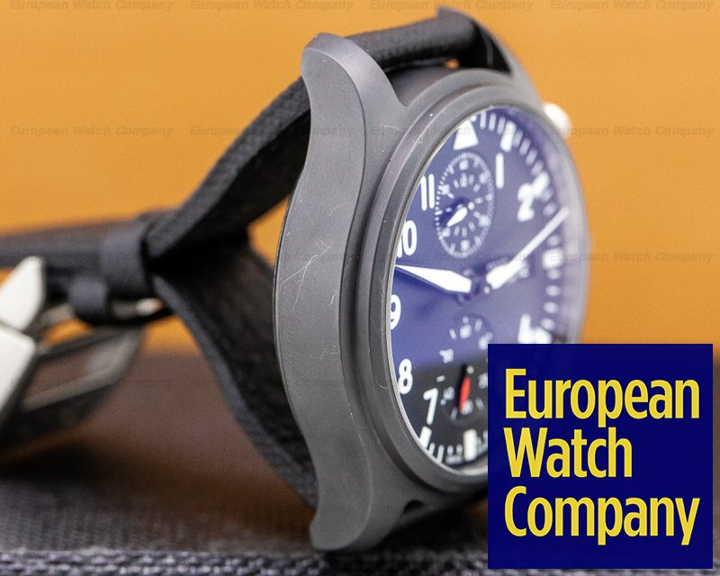 IWC IW389001 Top Gun Flyback Chronograph Ceramic 44.5MM
