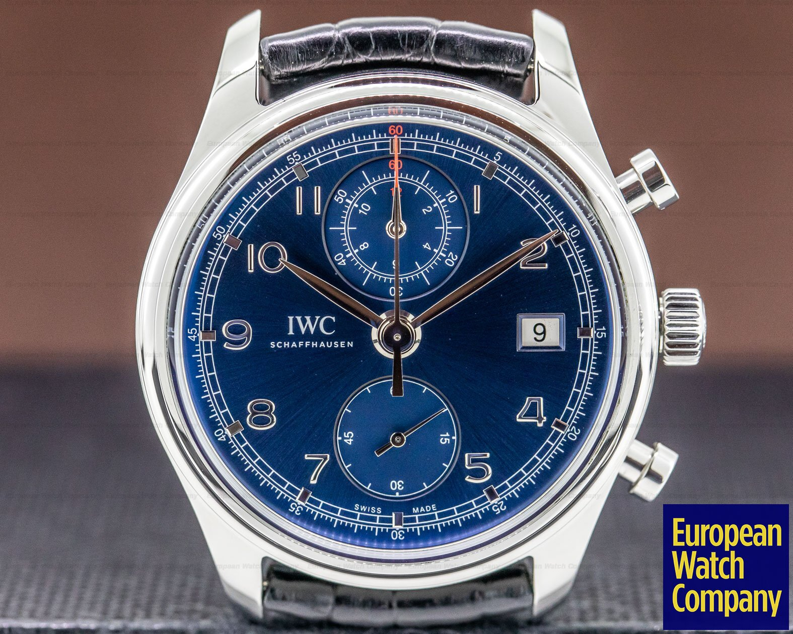 IWC IW390406 Portuguese Chronograph Classic SS Laureus Limited Edition