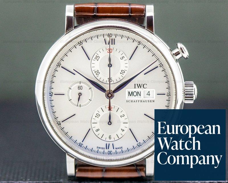 IWC IW391007 Portofino Chronograph SS Silver Dial