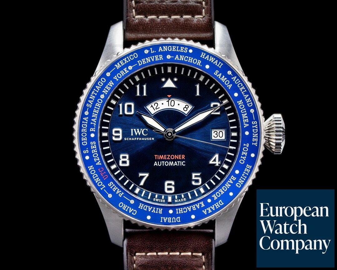 IWC IW395503 Pilot's Watch Timezoner IW395503
