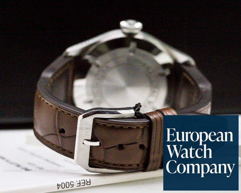 IWC IW500413 IW325512 Father & Son Watch Set Big Pilot Platinum, Mark XVI SS COMPLETE