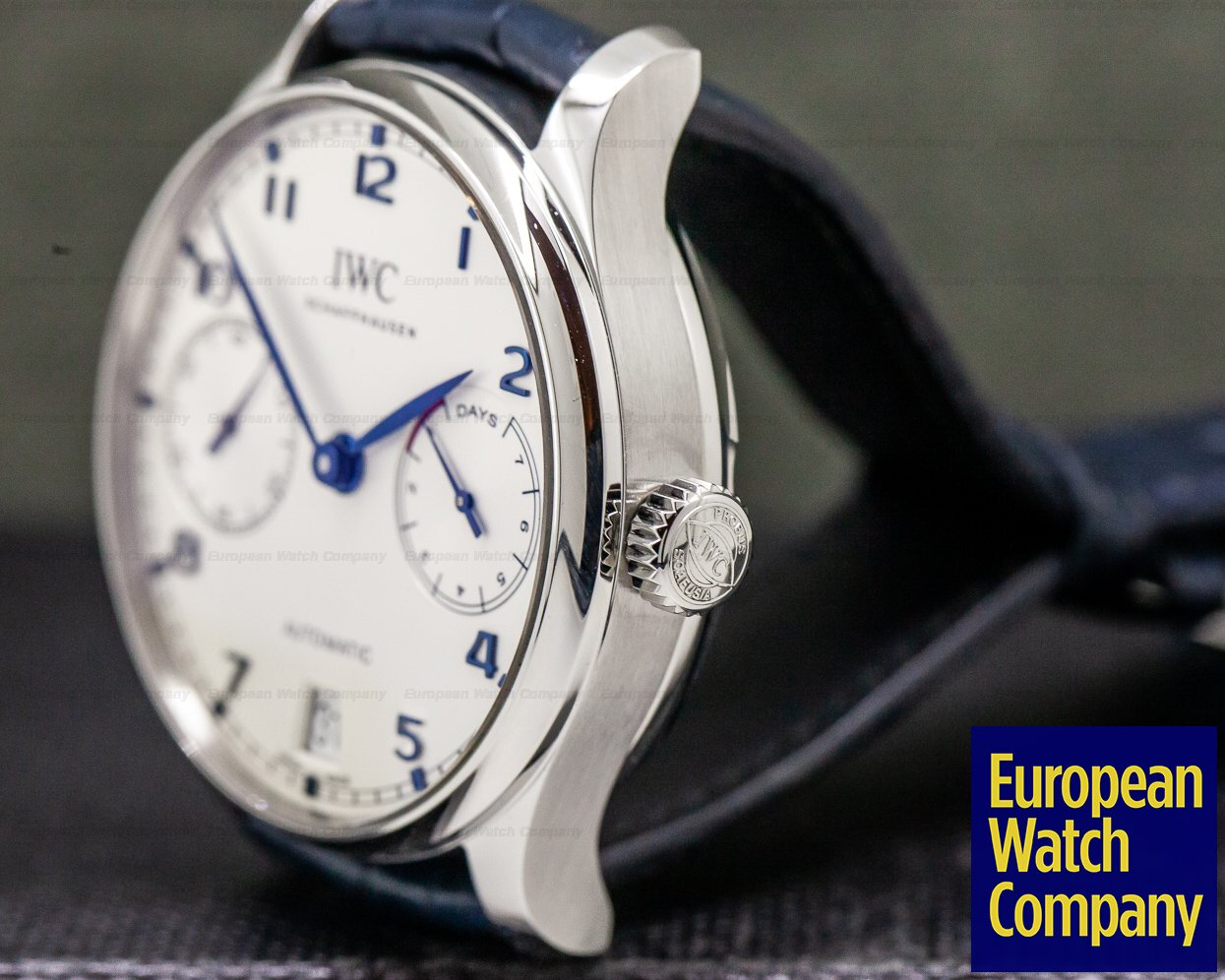 IWC IW500705 Portugieser 7 Day Automatic SS Silver Dial