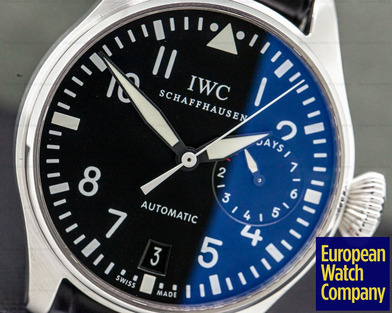 IWC IW500901 Big Pilot Stainless Steel 7 Day