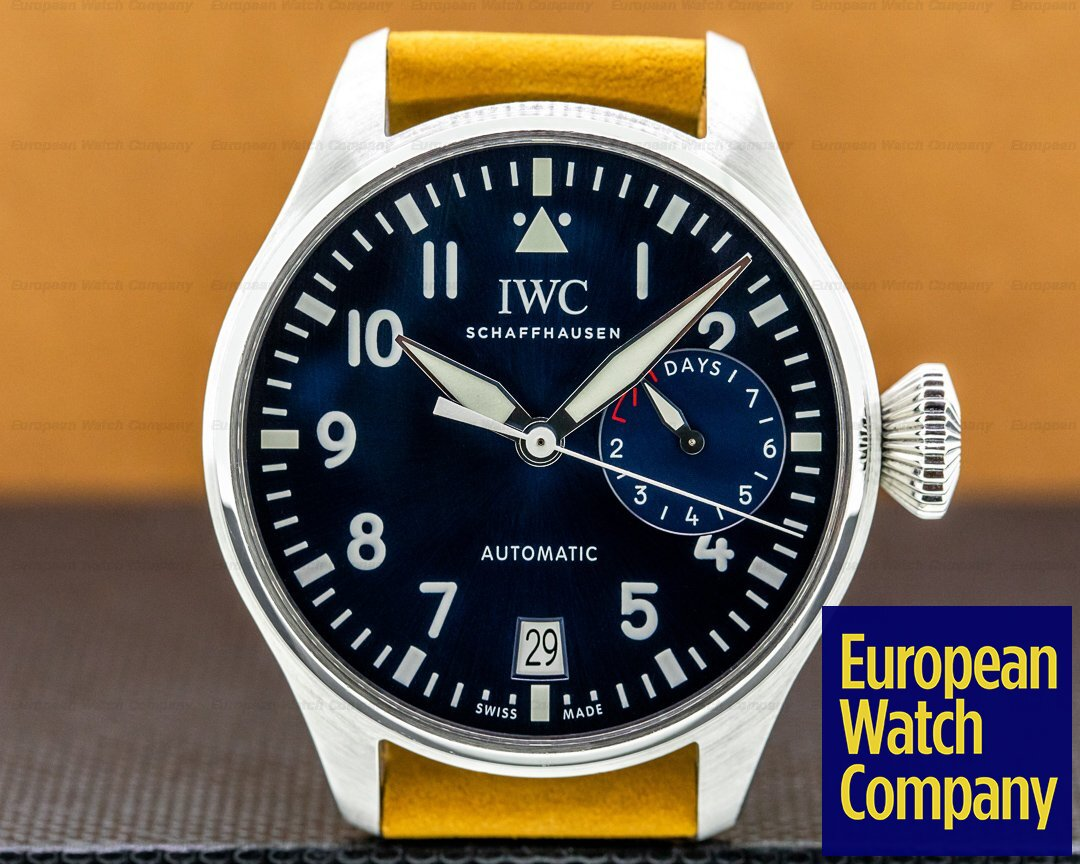 IWC Big Pilot LE PETIT PRINCE Blue Dial Ref. IW500916