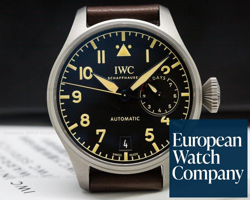 IWC IW501004 Big Pilot Heritage Titanium UNWORN