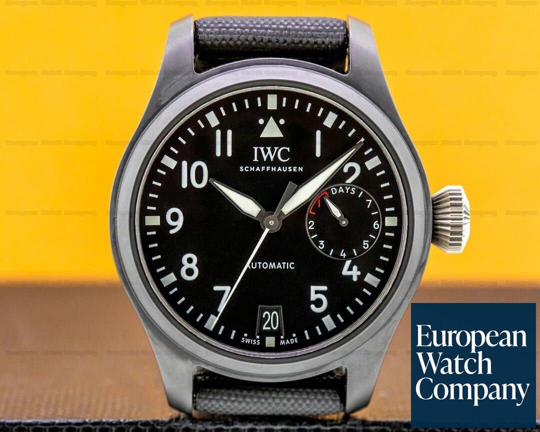 IWC IW502001 Big Pilot TOP GUN 7 Day Ceramic 46MM