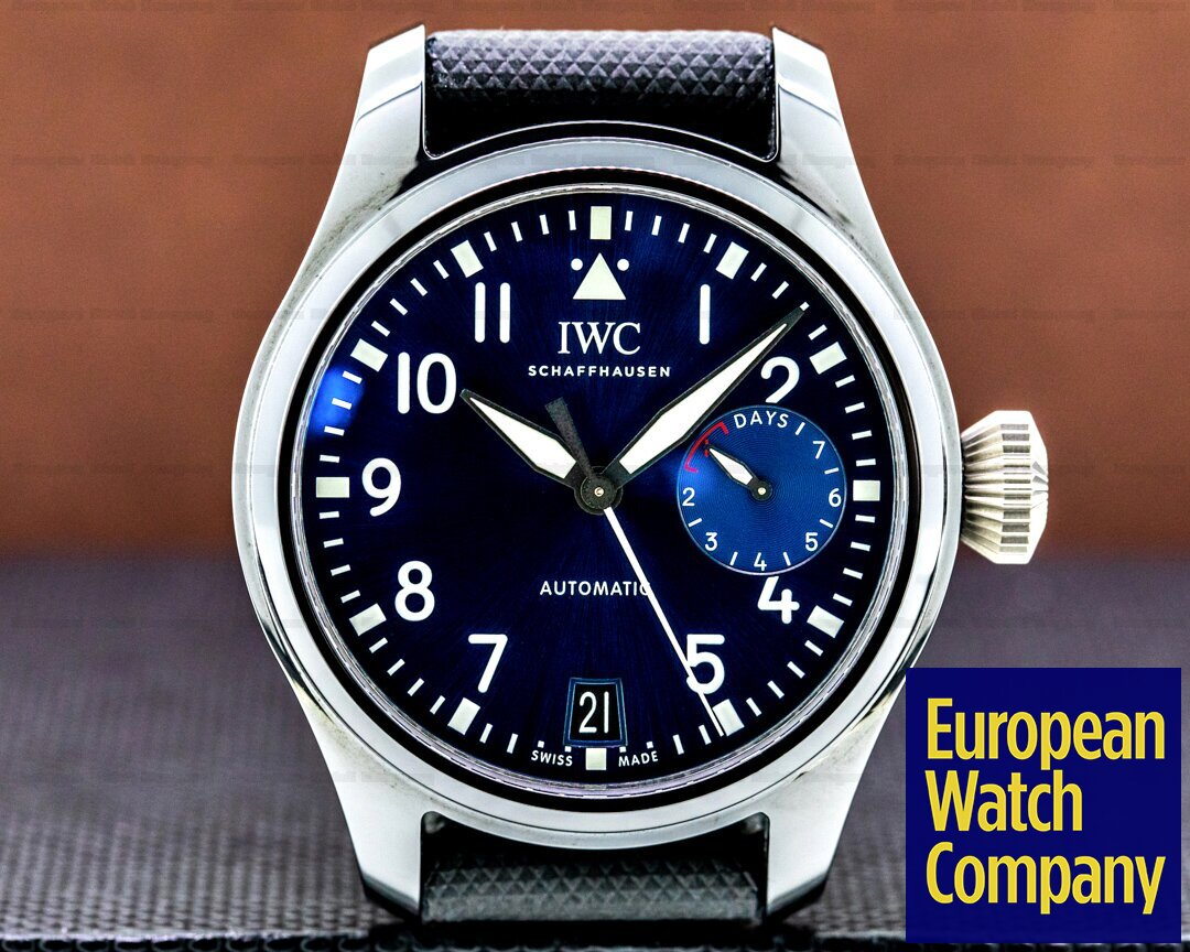 IWC Big Pilot Stainless 7 Day Rodeo Drive Ceramic Limited Edition UNWORN Ref. IW502003