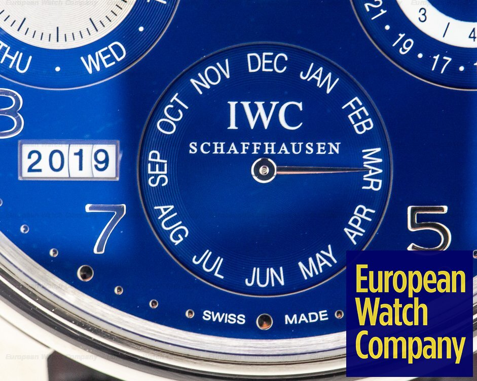 IWC IW503203 Portuguese Perpetual Calendar Double Moon 18K White Gold