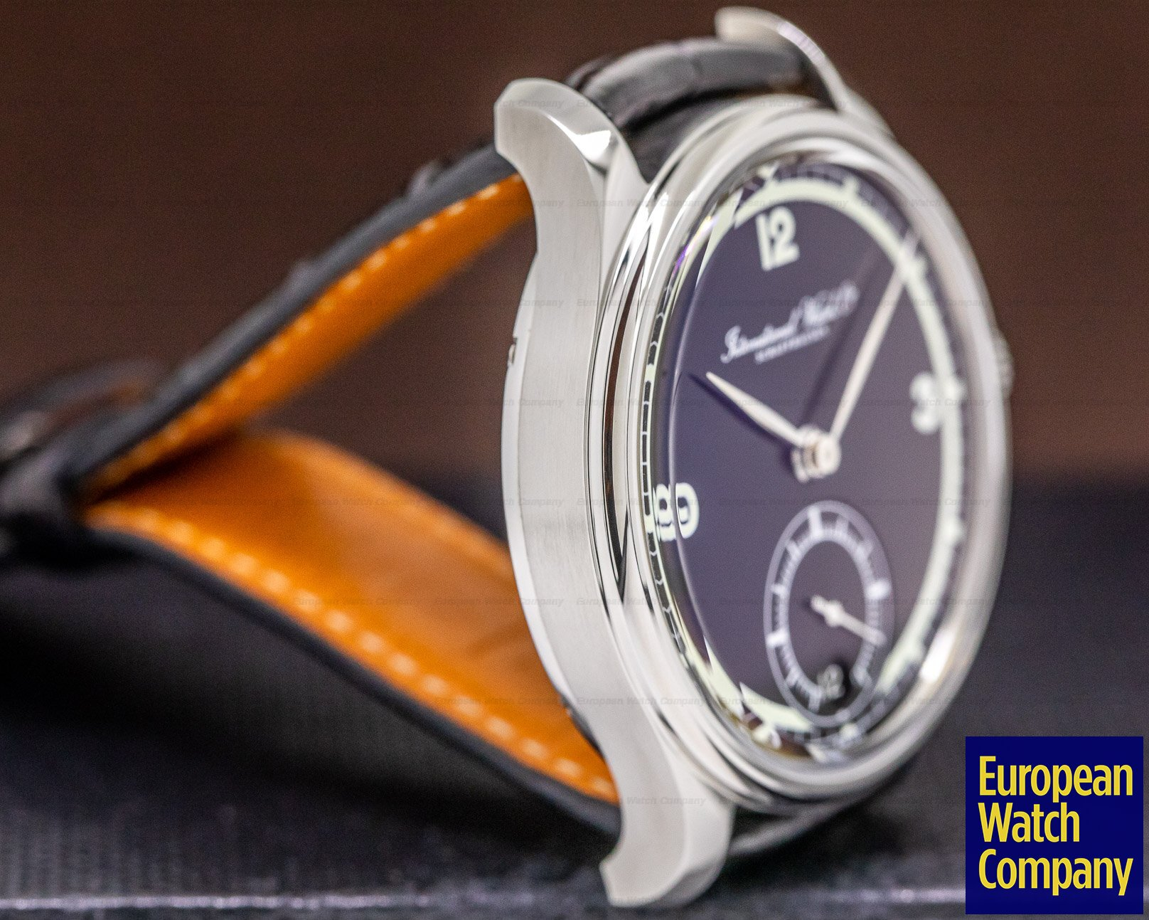 IWC IW510205 Portuguese Hand Wound Eight Days SS / Black Dial 75th Anniversary