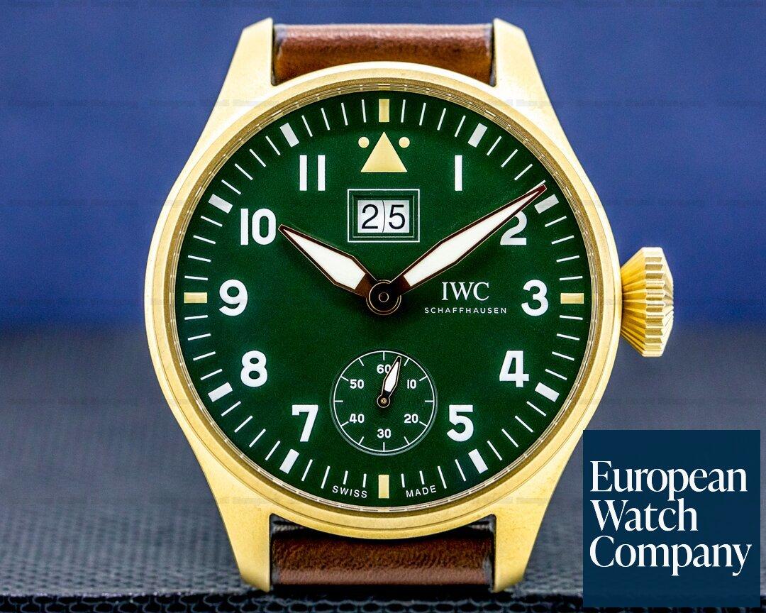 IWC Big Pilot Big Date Spitfire Edition Mission Accomplished LIMITED UNWOR Ref. IW510506