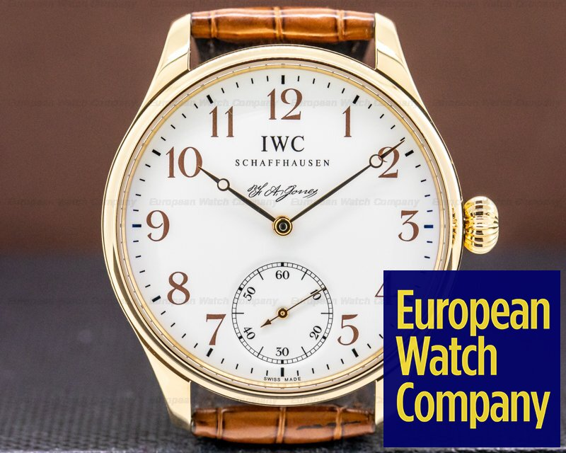 IWC IW544201 Portuguese F.A. Jones Limited Edition 18K Rose Gold