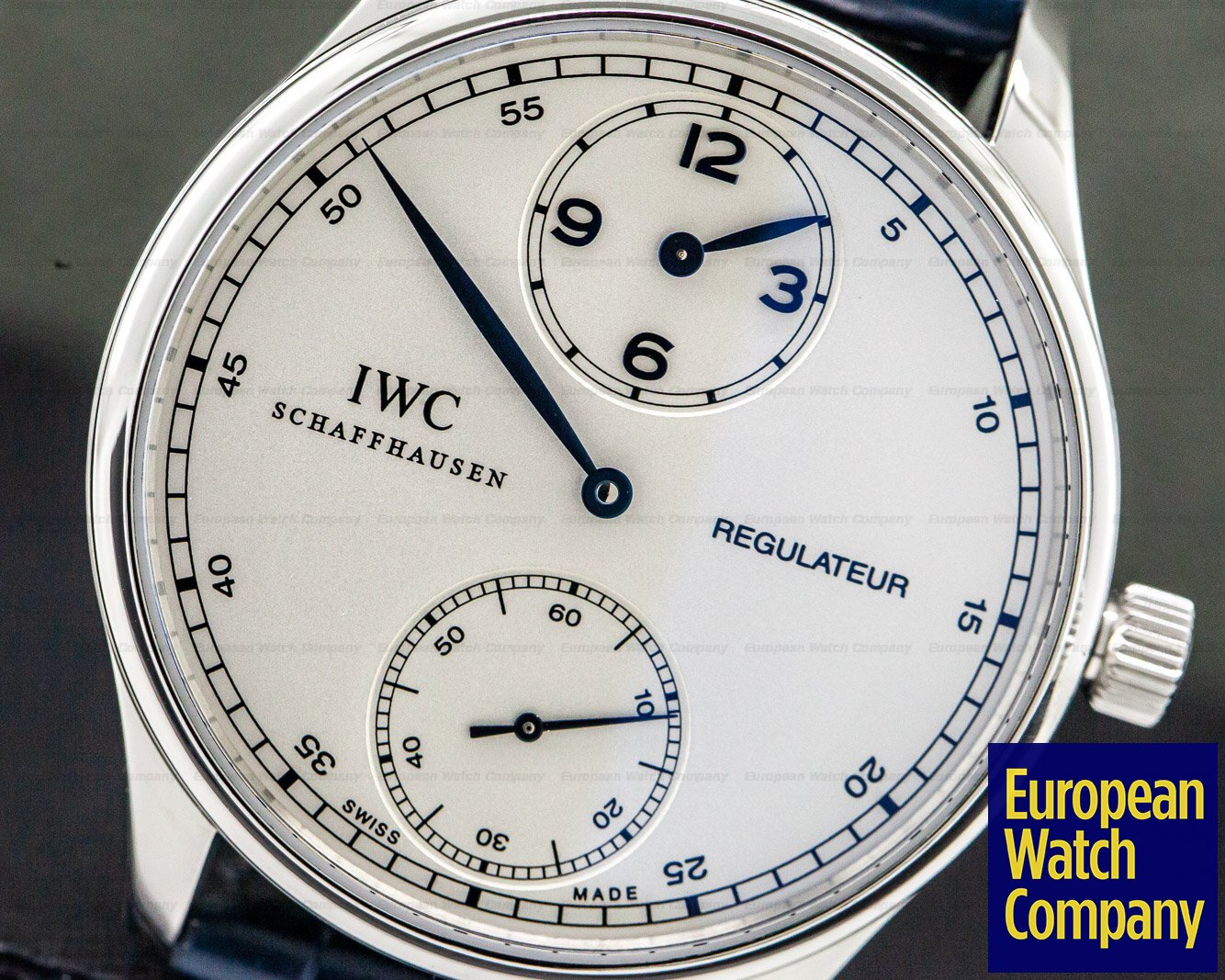 IWC IW544401 Portuguese Regulator Vintage Collection SS