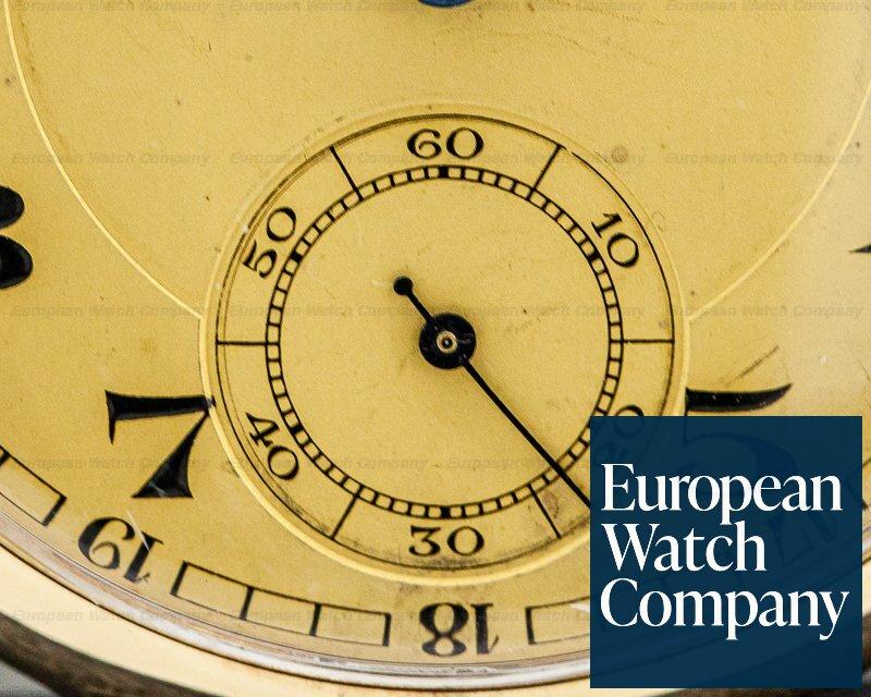Intercontinental Watch IWC Pocket Watch Intercontinental Watch 14K YG Vintage Pocket Watch 48MM