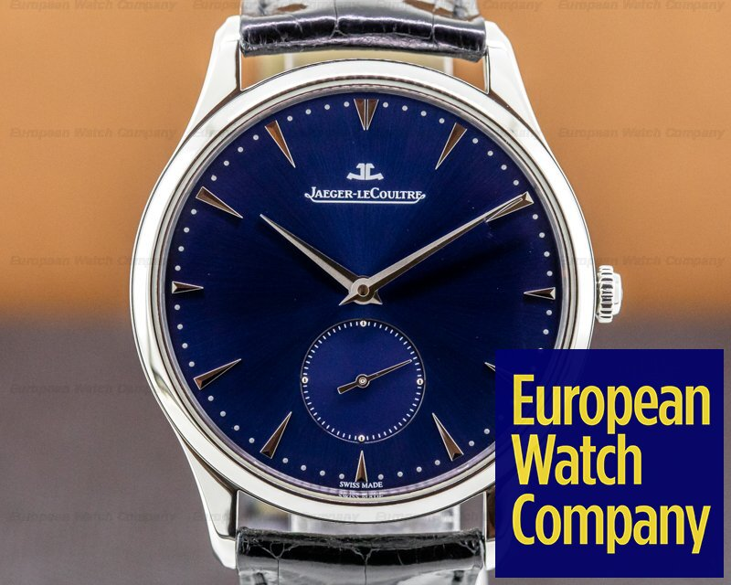 Jaeger LeCoultre 135.84.80 Master Grande Ultra Thin Blue Dial SS