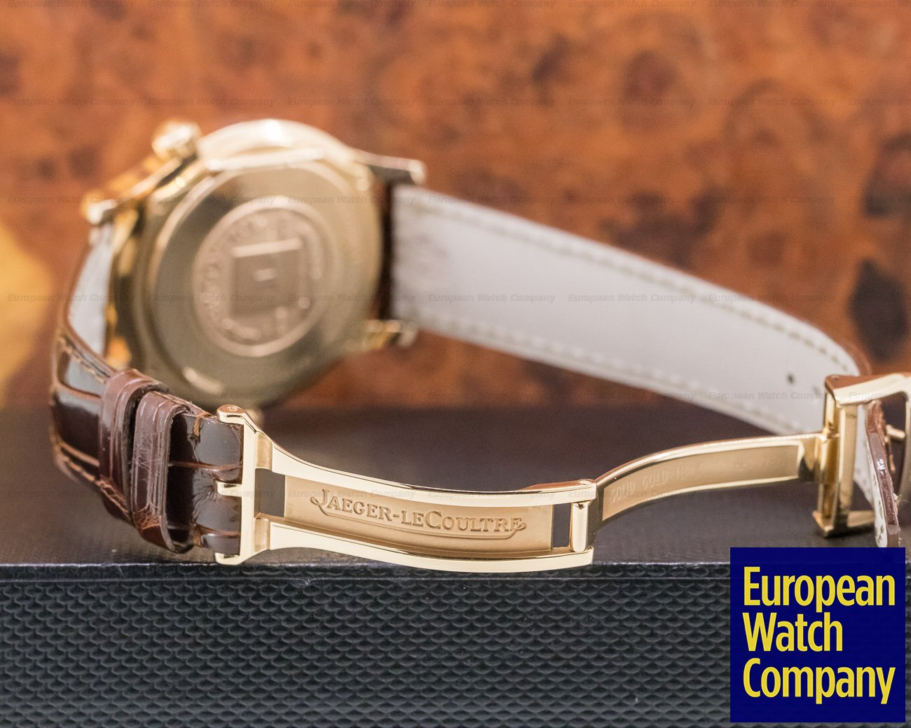 Jaeger LeCoultre 142.2.92 Master Geographic 18K Rose Gold