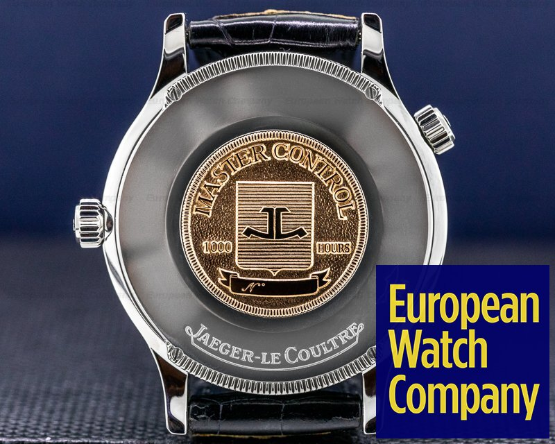 Jaeger LeCoultre 142.8.92 Master Geographic Steel Silver Dial / Deployment