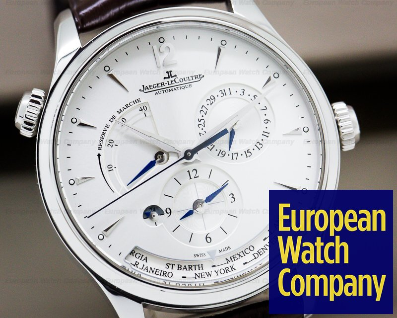 Jaeger LeCoultre 142.84.21 Master Geographic SS 39MM