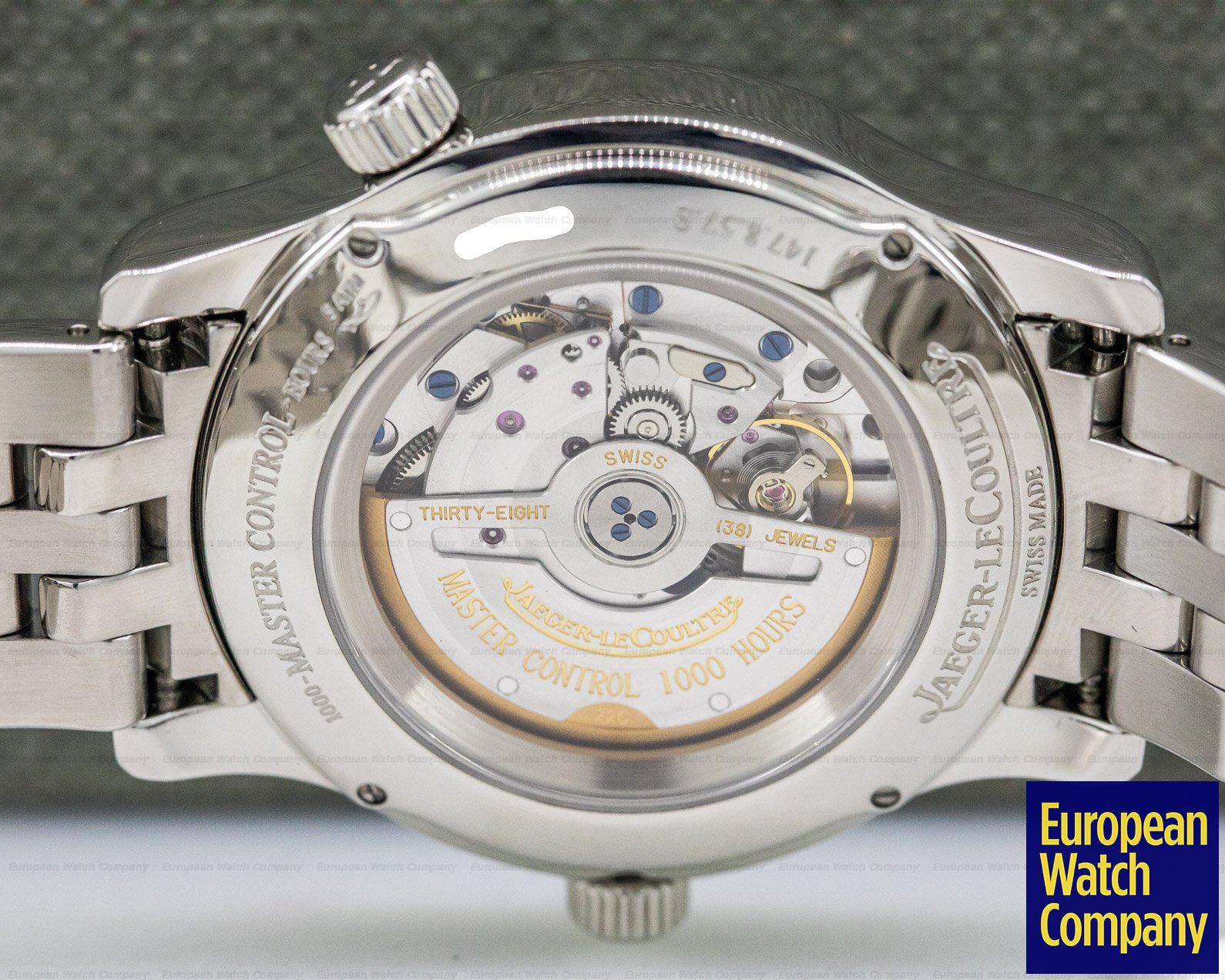 Jaeger LeCoultre 147.8.57.S Master Geographic SS / SS 40MM