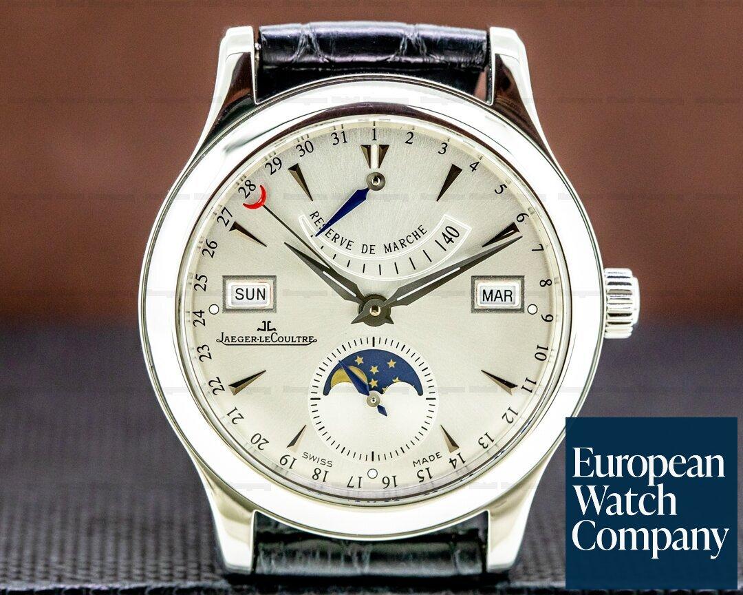 Jaeger LeCoultre Master Calendar SS Silver Dial Ref. 151.84.2A