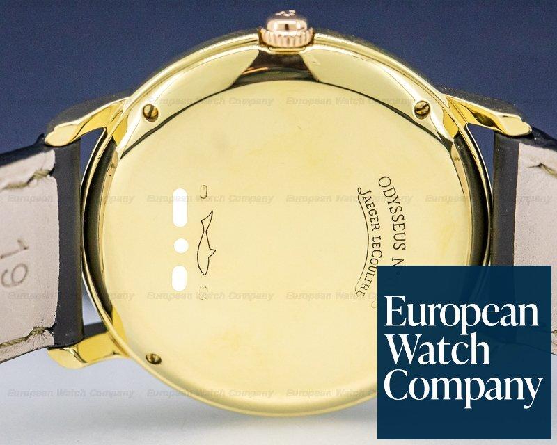 Jaeger LeCoultre 166.7.80 Odysseus Perpetual Calendar 18K Yellow Gold