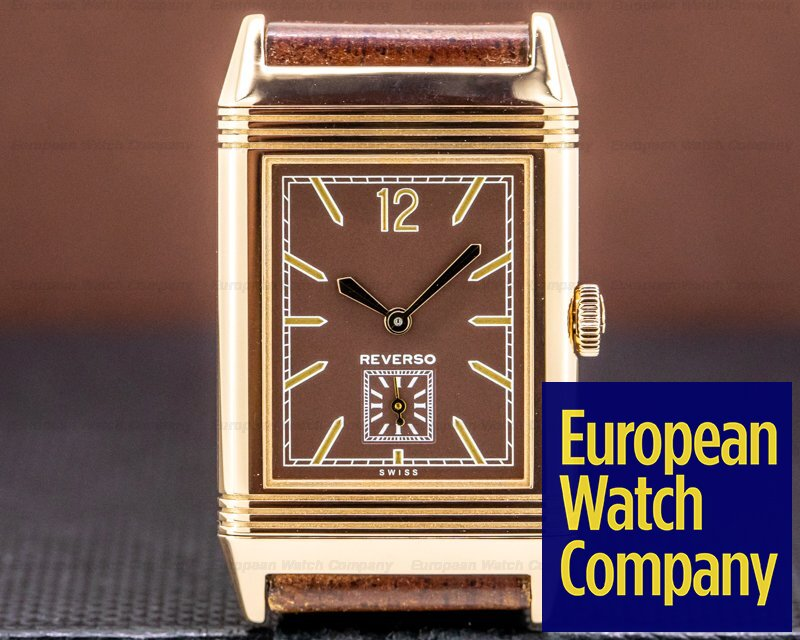 Jaeger LeCoultre Grande Reverso Ultra Thin Tribute 1931 Brown 18K Rose Gold Ref. 2782560