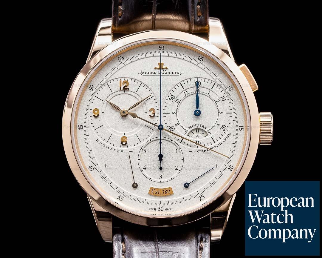 Jaeger LeCoultre Duometre a Chronographe 18K Rose Gold Ref. 601.24.20