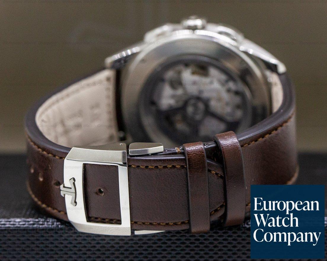 Jaeger LeCoultre 905T480 Polaris Chronograph WT Titanium Blue Dial UNWORN