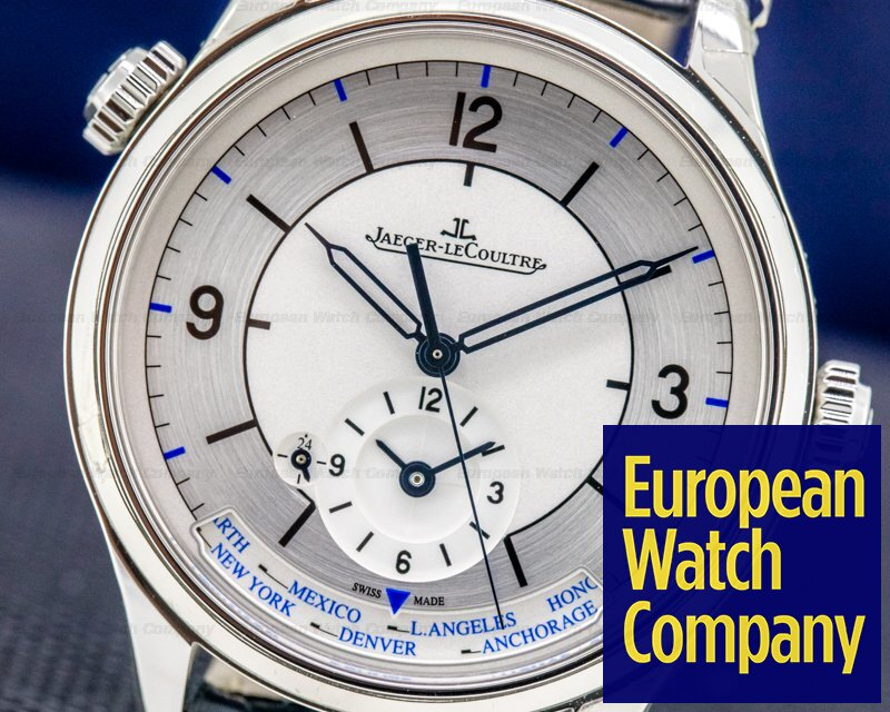 Jaeger LeCoultre Q1428530 Master Geographic SS SECTOR DIAL 39MM UNWORN