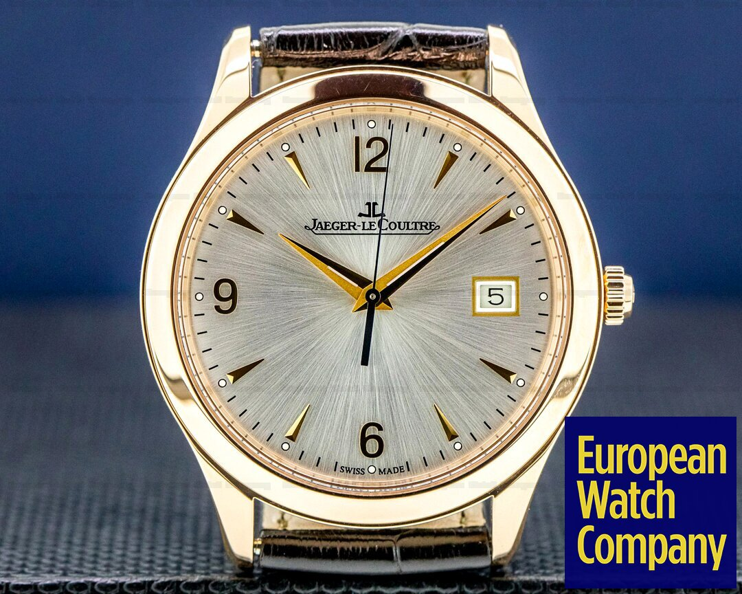 Jaeger LeCoultre Master Control Automatic 18k Rose Gold Ref. Q1542520