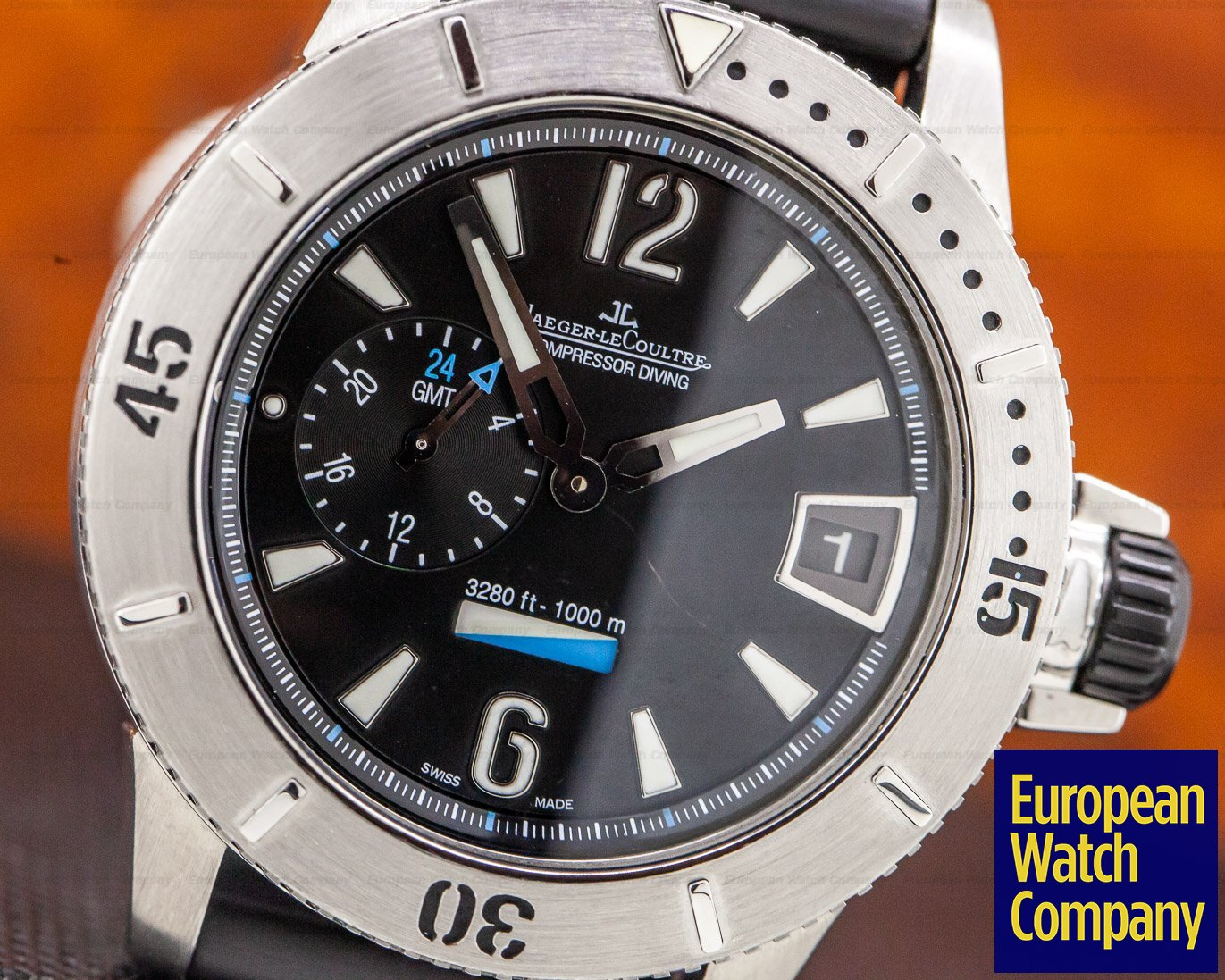 Jaeger LeCoultre Q160T05 Master Compressor Diving GMT Titanium