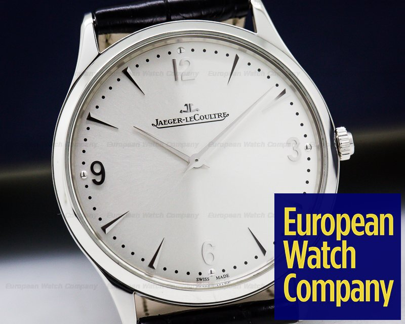 Jaeger LeCoultre Q172879S Master Ultra Thin SS Silver Dial 38mm