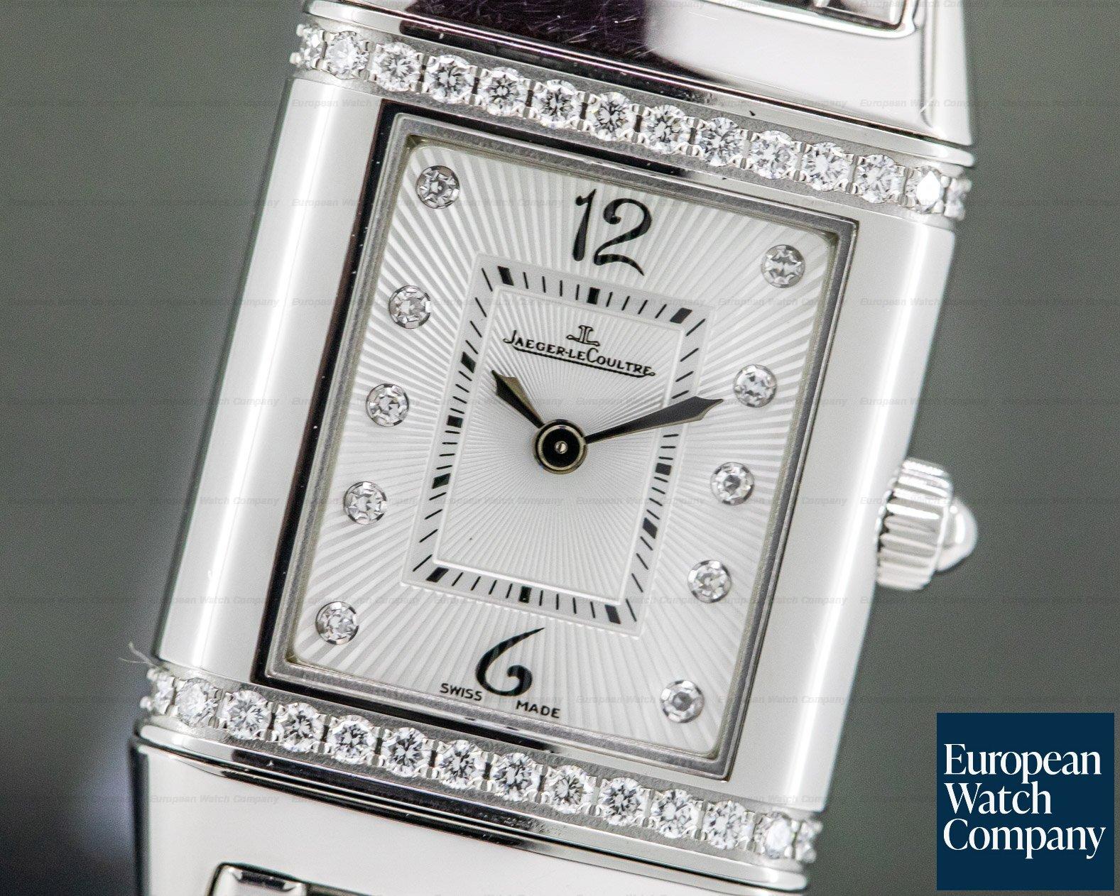 Jaeger LeCoultre Q2658131 Reverso Lady Jewellery Quartz SS / SS