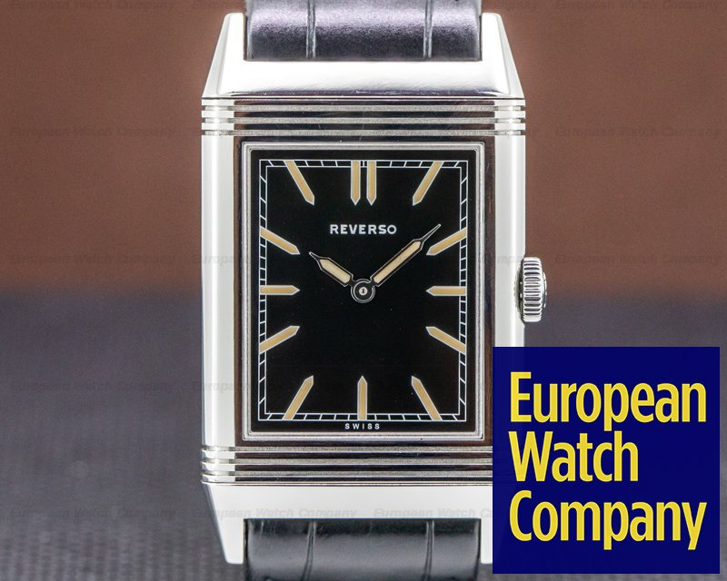 Jaeger LeCoultre Q2788570 Tribute to Reverso 1931 Ultra Thin SS Black Dial US LIMITED