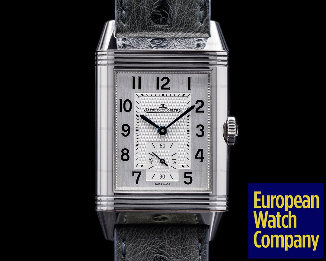 Jaeger LeCoultre Q38484AF Reverso Classic Large Duoface Green Marble Boutique Edition RARE