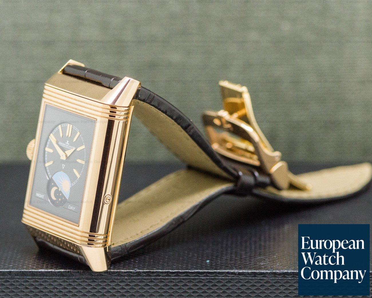 Jaeger LeCoultre Q3912420 Reverso Tribute Calendar 18K Rose Gold