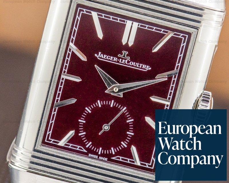 Jaeger LeCoultre Q397846 Reverso Tribute Small Seconds Burgundy 2020 UNWORN