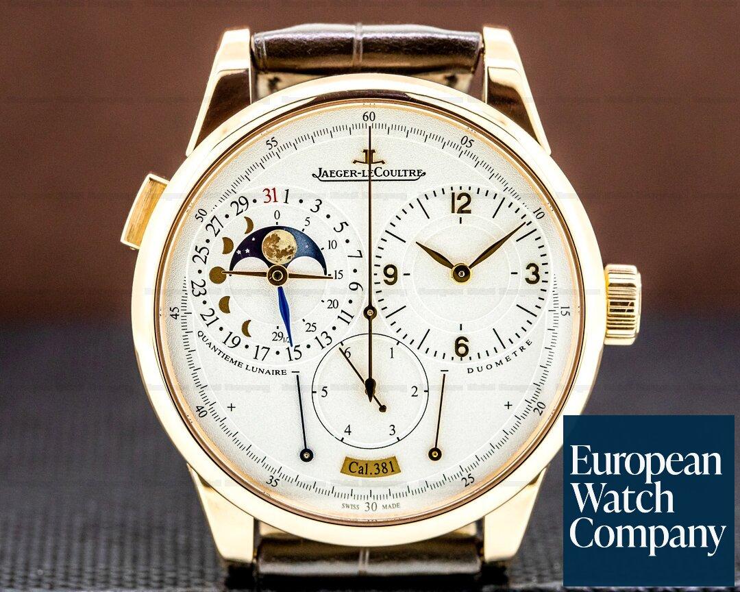 Jaeger LeCoultre Duometre a Quantieme Lunaire Q6042421 18K Rose Gold Ref. Q6042421