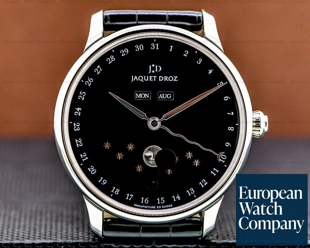 Jaquet Droz Astrale Eclipse Black Dial SS Ref. J012630270