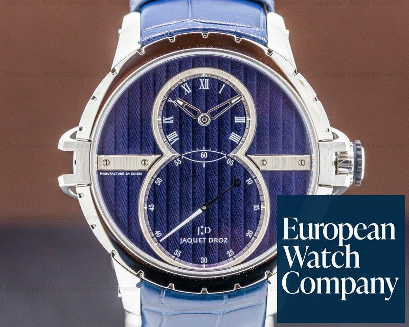 Jaquet Droz J02902041 Grande Seconde SW Steel Blue Dial UNWORN