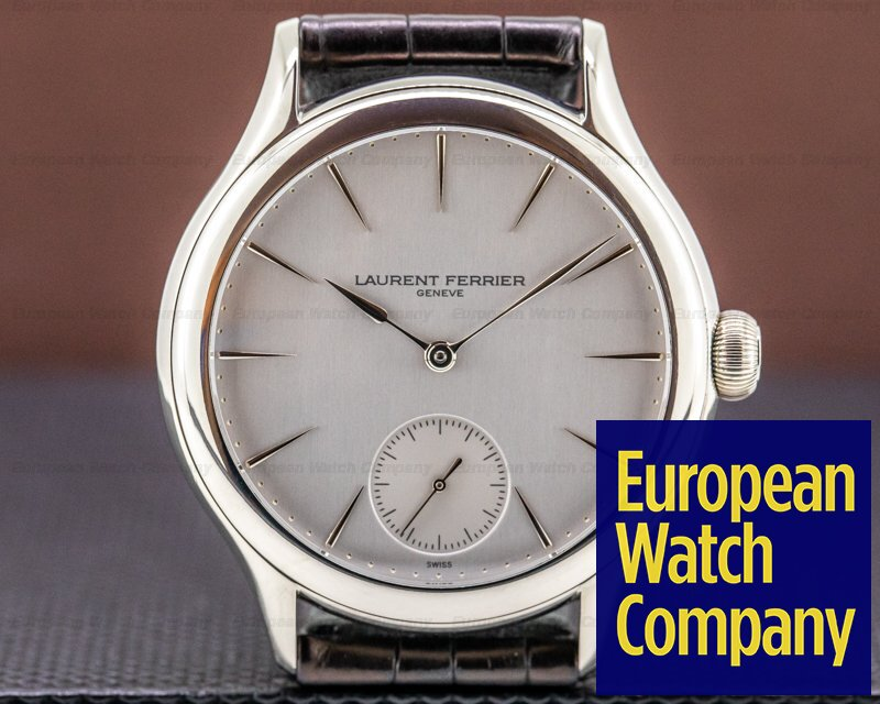Laurent Ferrier LCF004.G1.GG1 Galet Micro Rotor 18k White Gold Silver Dial