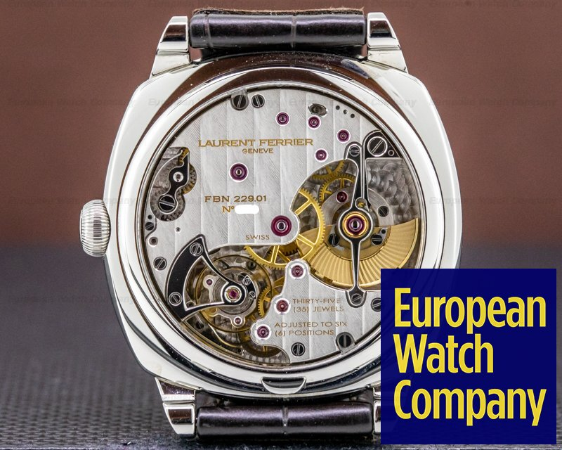 Laurent Ferrier LCF013.AC.RG1 Galet Square Micro-Rotor SS Autumn Dial