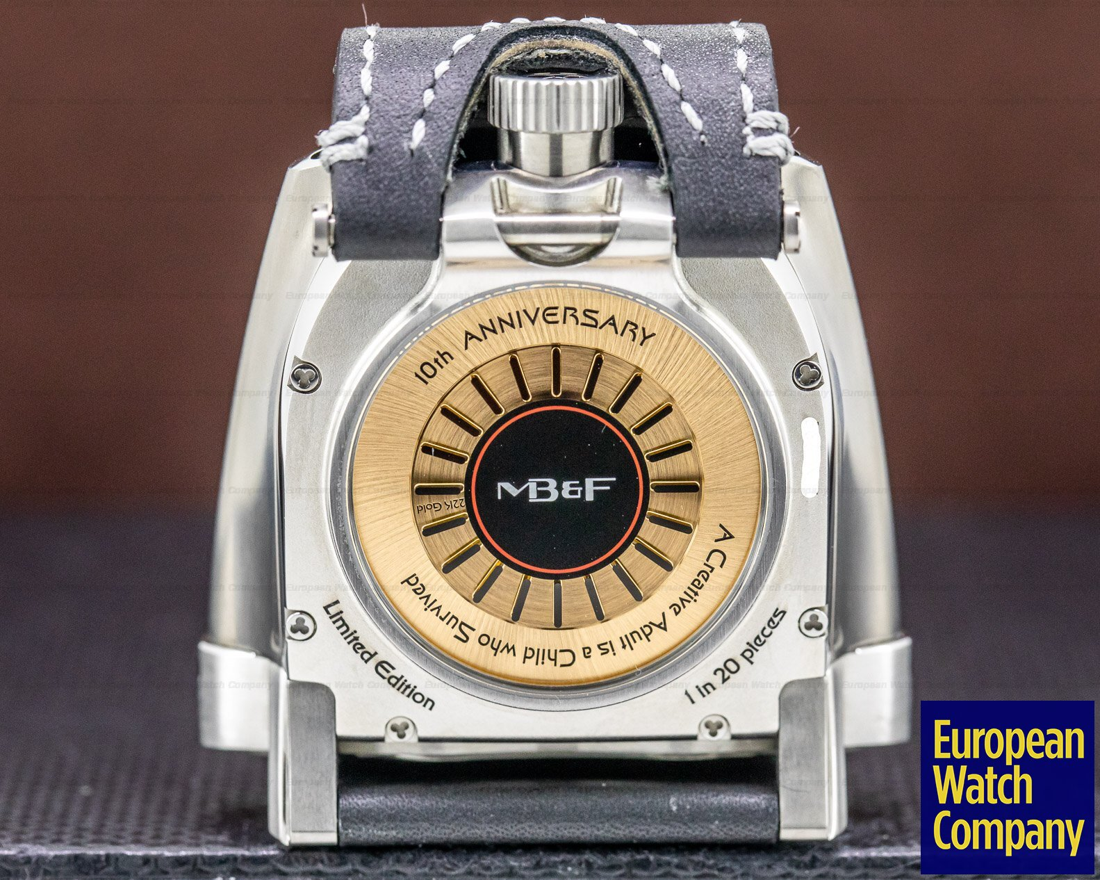 MB&F HMX Black HMX Black 10th Anniversary Horological Machine LIMITED