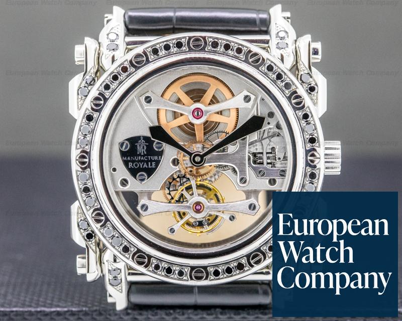 Manufacture Royale Androgyne Tourbillon Androgyne Tourbillon SS Black Diamonds