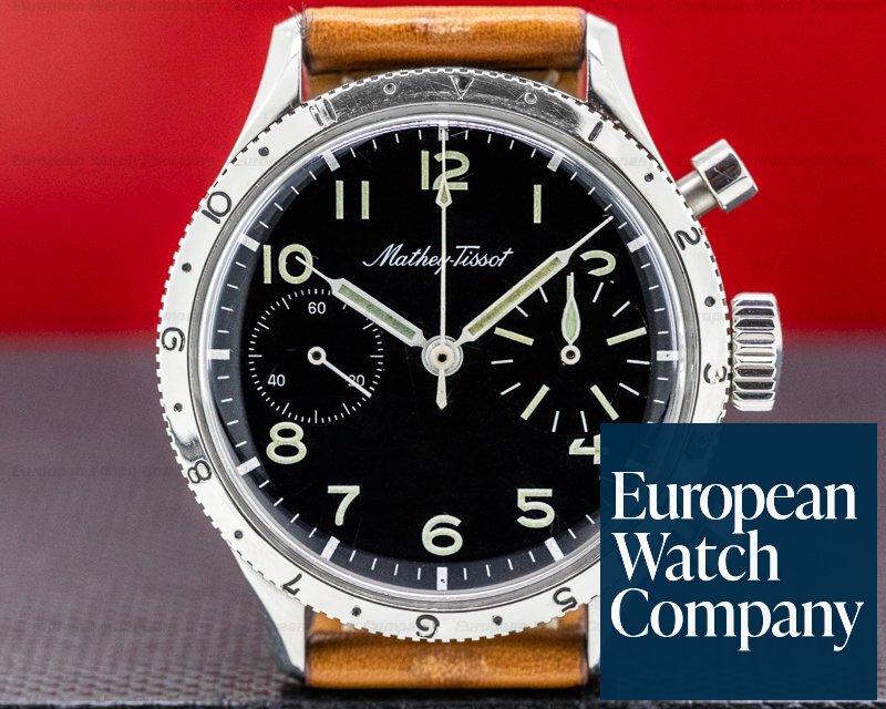Mathey-Tissot Type XX Vintage Civilian Type XX Pilot Flyback Chronograph